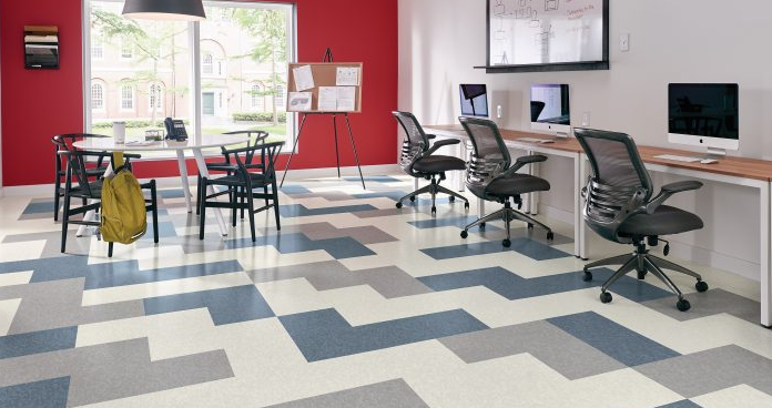 Commercial flooring adds grace to the perfect ambience