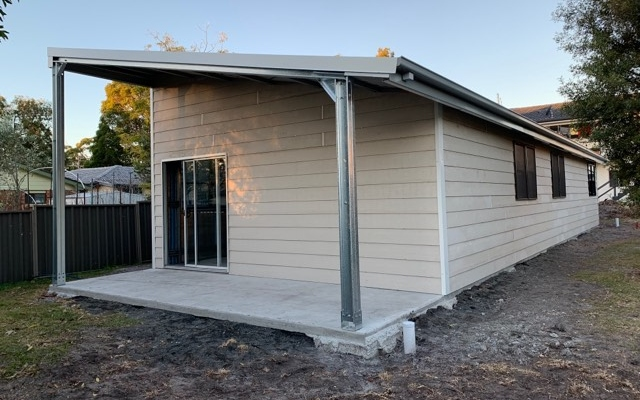 What are the different designs of sheds in Nowra