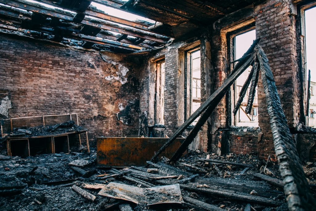 Things you should do after fire damage