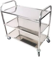 Gastronorm Trolleys For Multi-purposes In Commercial Kitchens