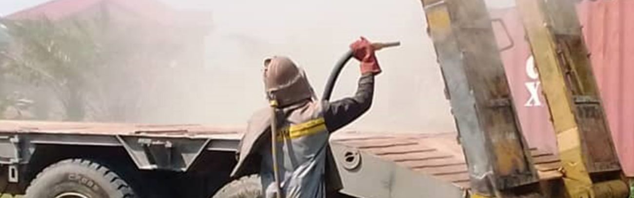 Different types of sandblasting services
