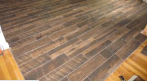 wood look tile