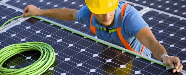 Solar Panel Electrician