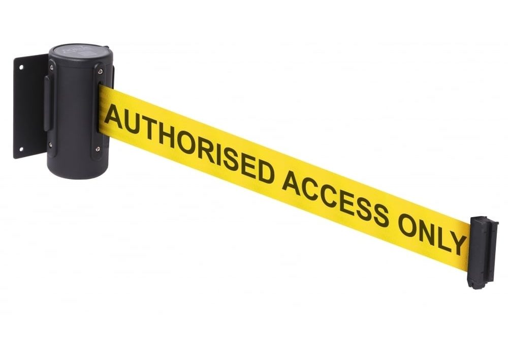 Get Advanced Type of Wall Mounted Retractable Belt Barriers